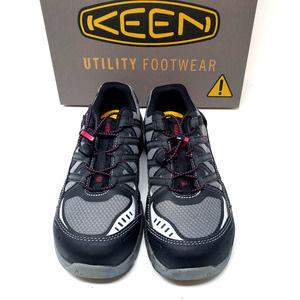 NEW! Keen Asheville Aluminum Toe Safety Boots 8.5